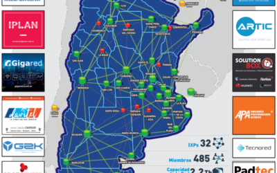CABASE presentó el nuevo Atlas Red Nacional IXP 2020