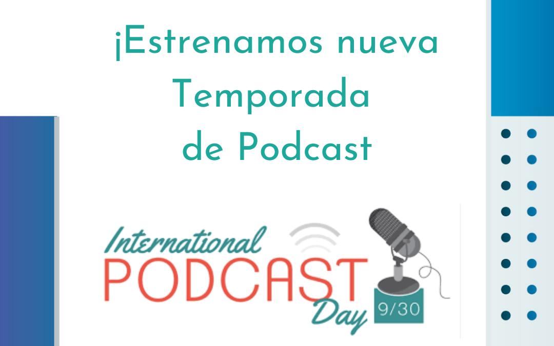 Se viene el Día Internacional del Podcast